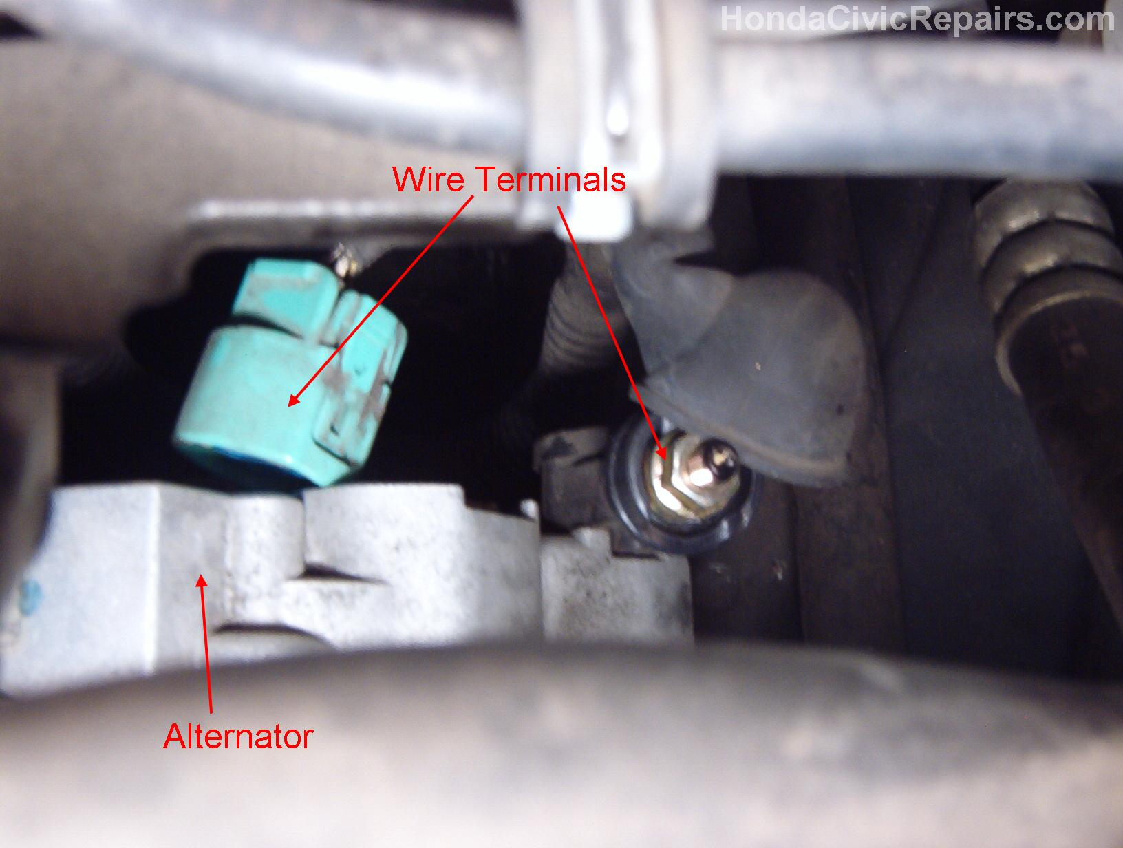Repairing the Alternator - Honda Civic on