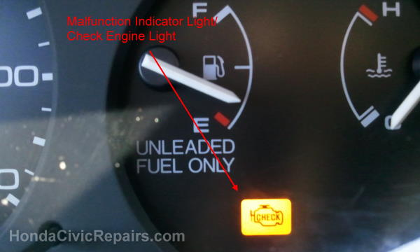 12 Malfunction Indicator L Honda Civic Funny Pictures