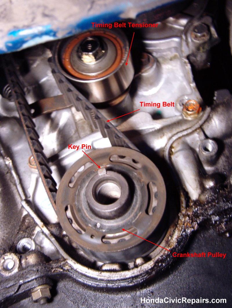 Changing the Timing Belt - Honda Civic